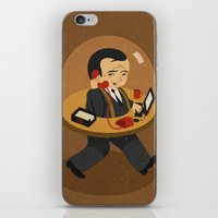 office iPhone & iPod Skins featuring mobile office by John Holcroft