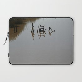 The river 's cryptic message Laptop Sleeve