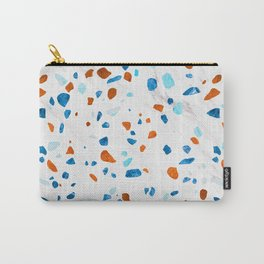 Abstract Terrazzo Pattern Carry-All Pouch