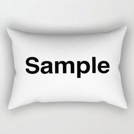 Sample Rectangular Pillow