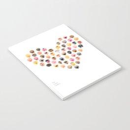Vulva Heart Notebook