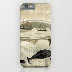 paper II :: whales/ships iPhone 6s Slim Case
