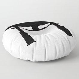 Tori Gate Silhouette Floor Pillow