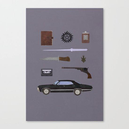 Supernatural v2 Canvas Print