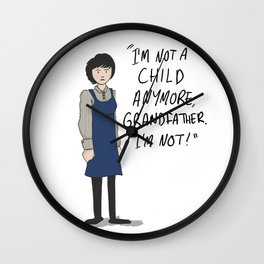 Susan Foreman - The Doctor's Granddaughter Wall Clock