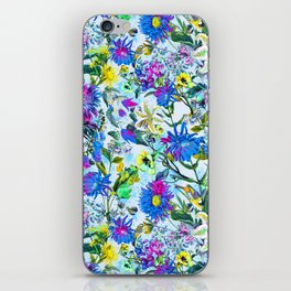 RPE FLORAL IX iPhone Skin