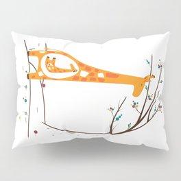 Pregnant Giraffe Pillow Sham
