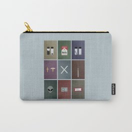 X-Files colors Carry-All Pouch