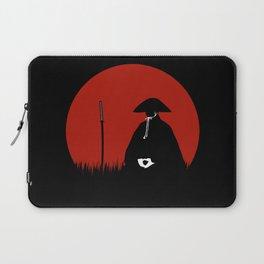 Meditating Samurai Warrior Laptop Sleeve