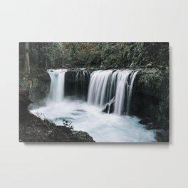 Waterfall Overhaul Metal Print