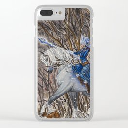 Out of the Woods Clear iPhone Case