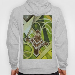 "Robert Delaunay ""Eiffel Tower and Gardens, Champ de Mars"" Hoody"