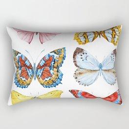 Butterflies 01 Rectangular Pillow