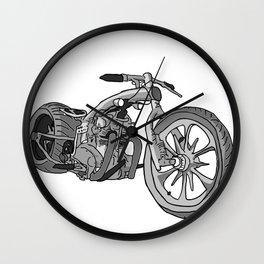 Juan's Chopper Wall Clock