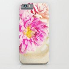Sweet Peonies Slim Case iPhone 6