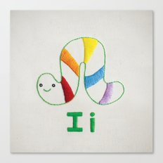 I Inchworm Canvas Print