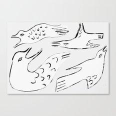 Gulls Canvas Print