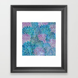 Floral Abstract 33 Framed Art Print