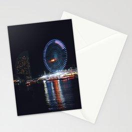 Yokohama Night Life Stationery Cards