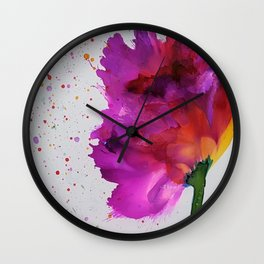 Burst of Color Wall Clock