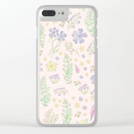 Asheville Natives (Hero) Clear iPhone Case