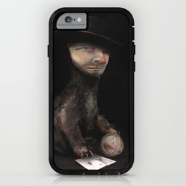Charles the cat iPhone Case