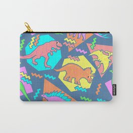 Nineties Dinosaur Pattern Carry-All Pouch
