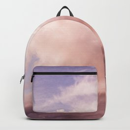 Perfect Pink Summer Sky Nature Photography Backpack