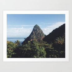 Afternoon in St. Lucia Art Print