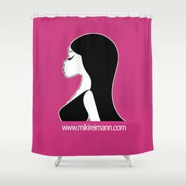 Miki Collection iPhone Case Shower Curtain
