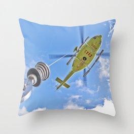 GREA Throw Pillow