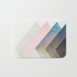 Geometric Layers Bath Mat