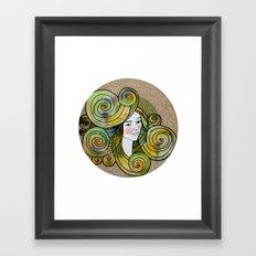 Yesil Framed Art Print