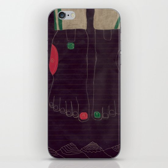 6 finger iPhone & iPod Skin