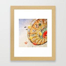 Sea Swings... Framed Art Print