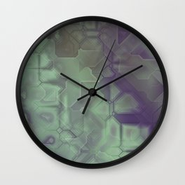 future fantasy wild Wall Clock