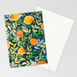 Blue Citrus Stationery Cards