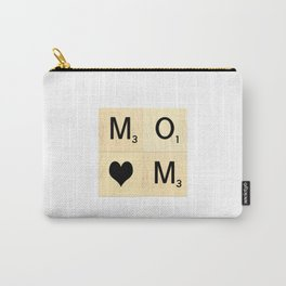MOM - Mother's Day Scrabble Art Carry-All Pouch