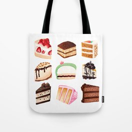 Yummy Cakes Tote Bag