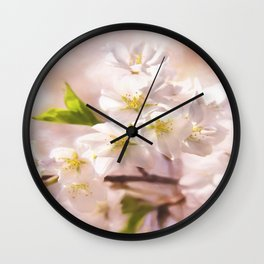 Cherry Blossoms In The Spring Wall Clock