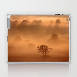 """Dawn"" whispered the mist Laptop & iPad Skin"