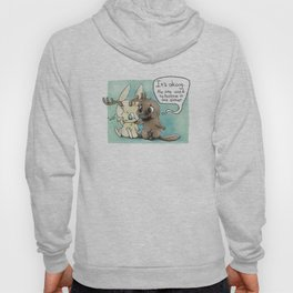 Cryptid Support Group Hoody