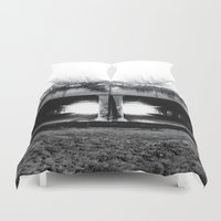 melbourne Duvet Covers featuring Melbourne Tunnels by Paul Vayanos