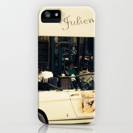 Chez Julien iPhone Case