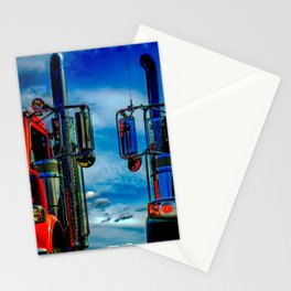 Trucking Stationery Cards