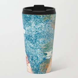 Blue Bison Metal Travel Mug