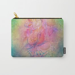 Psychedelic Trippy Ganesh Carry-All Pouch