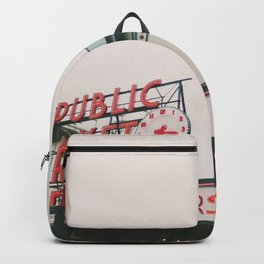 Pikes Place- Seattle Backpack