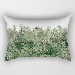 Palm trees | Campuhan Ridge Walk Bali, Indonesia | Travel photography art print photo Rectangular Pillow