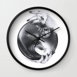 Future Waves Wall Clock